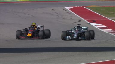 Verstappen fights off Hamilton