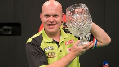 Van Gerwen crowned Grand Prix champion