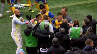 Ugly scenes mar Colorado win