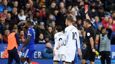 Merson: Morgan red card harsh