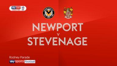 Newport 2-1 Stevenage