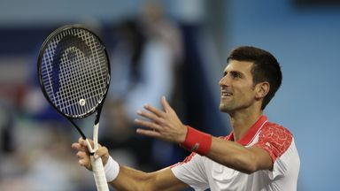 Djokovic: I'm playing my best tennis