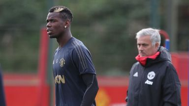 Pogba, Sanchez train ahead of Valencia