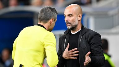 Pep: I don't want to talk officials