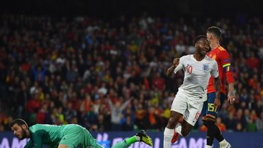 Southgate praises England's front three
