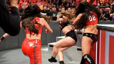 The Bella Twins attack Ronda Rousey