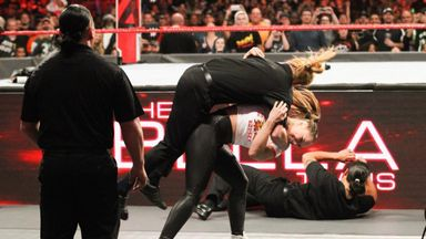 Rousey destroys Bella's private security