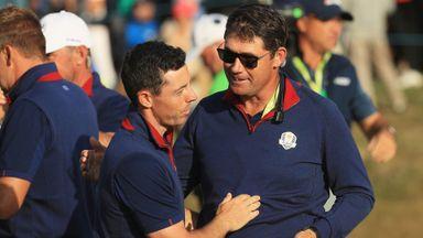 Rory: Harrington would be good captain