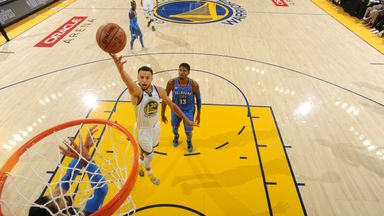 Thunder 100-108 Warriors