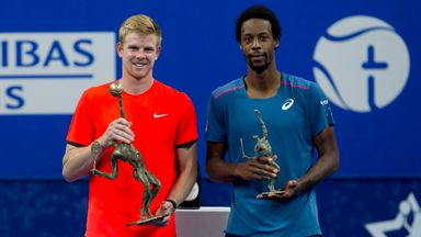 Edmund's tears of joy at first ATP title