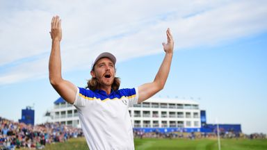 Fleetwood: Ryder Cup win very special