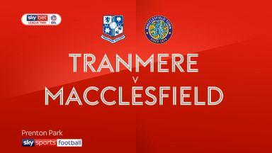 Tranmere 1-0 Macclesfield