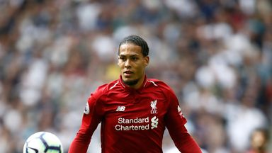 Klopp: Van Dijk has no problems