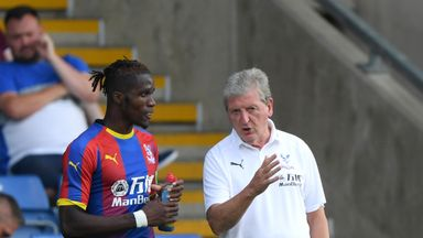 Hodgson offers Zaha support over abuse