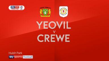 Yeovil 1-1 Crewe