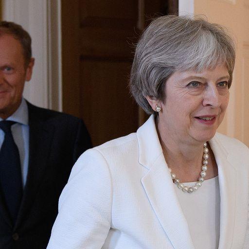 EU leaders put pressure on PM ahead of summit