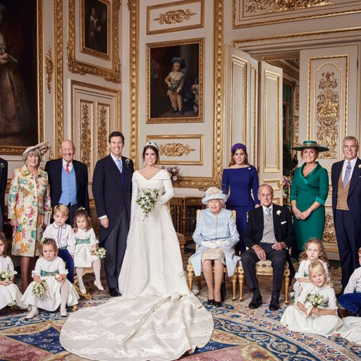 Eugenie and Jack release official photos