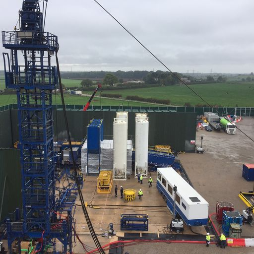 Cuadrilla fracking in Lancashire halted again