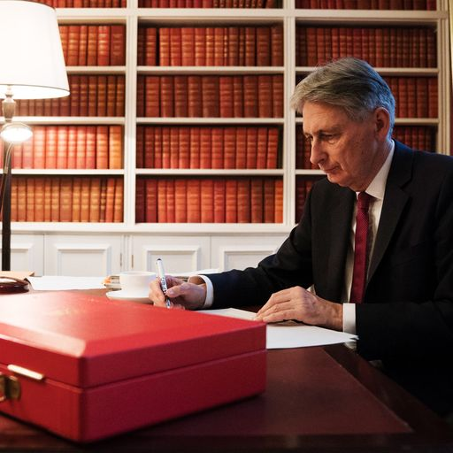 Chancellor Philip Hammond rules out major tax rises