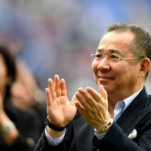Thai billionaire owner Vichai Srivaddhanaprabha brought Leicester their greatest days