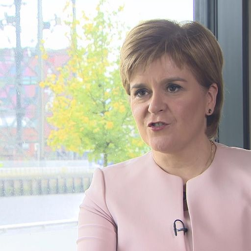 Sturgeon wants same Northern Ireland backstop deal for Scotland
