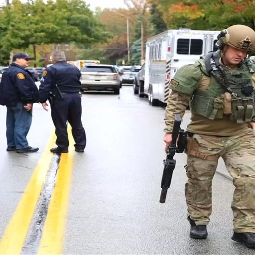 Man faces 29 charges after mass shooting in Pittsburgh synagogue