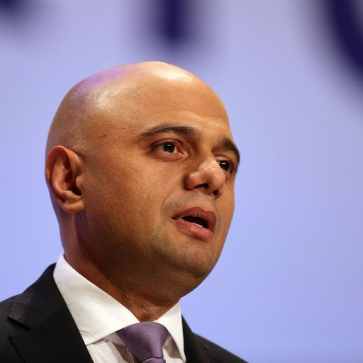 Sajid Javid admits police do not have enough resources