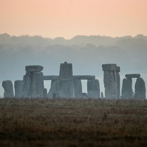 Some Stonehenge rocks were here 'before humans'