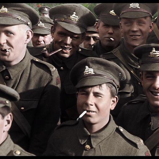WWI in colour