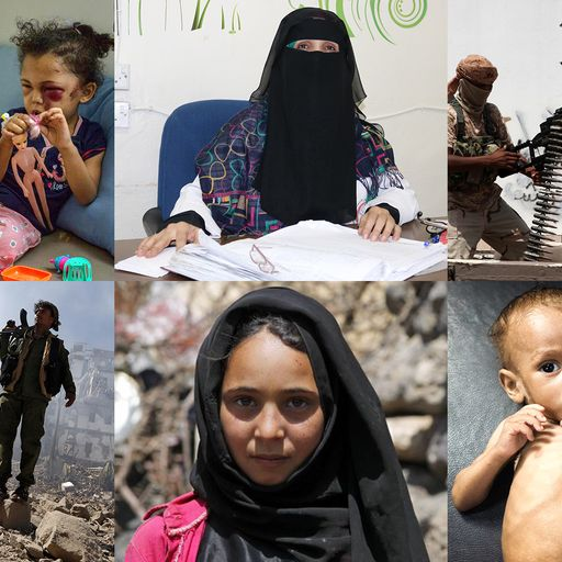 Yemen: Faces of the world's forgotten war