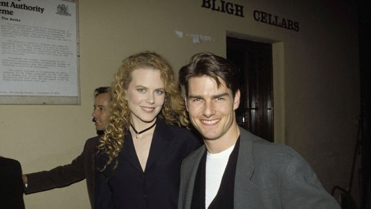 Nicole Kidman and Tom Cruise pictured in Sydney in 1993