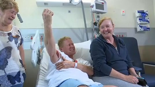 Paul Kenny survived the attack on Samurai Beach in New South Wales