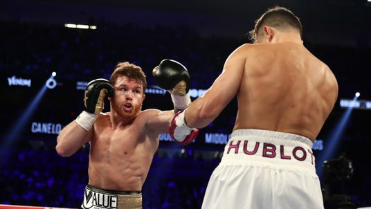 Alvarez beat Gennady Golovkin in Las Vegas in September