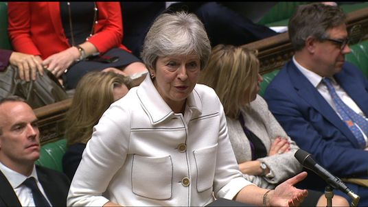 At times Theresa May appeared to be under siege during the Brexit debate