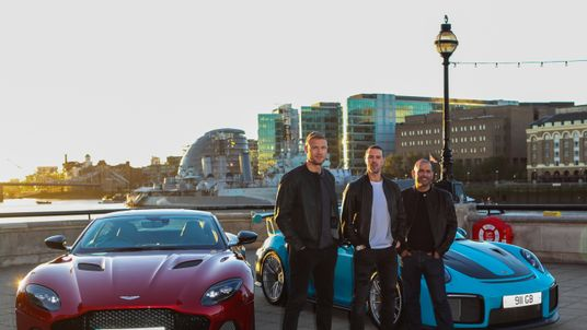 """The BBC announce Andrew """"Freddie"""" Flintoff, Paddy McGuiness and Chris Harris as the new presenting team for the upcoming series of Top Gear... featuring: Andrew """"Freddie"""" Flintoff, Paddy McGuiness, Chris Harris"""