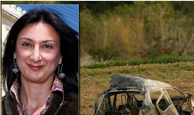 Daphne Caruana Galizia: Three men charged over murder of journalist in Malta