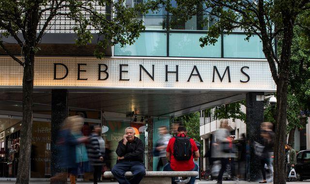 Debenhams CEO Sergio Bucher to leave troubled retailer