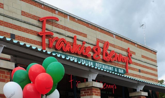 Frankie & Benny's owner plans to close 90 more restaurants