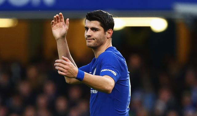 Alvaro Morata's loan move from Chelsea to Atletico Madrid to be completed later on Monday
