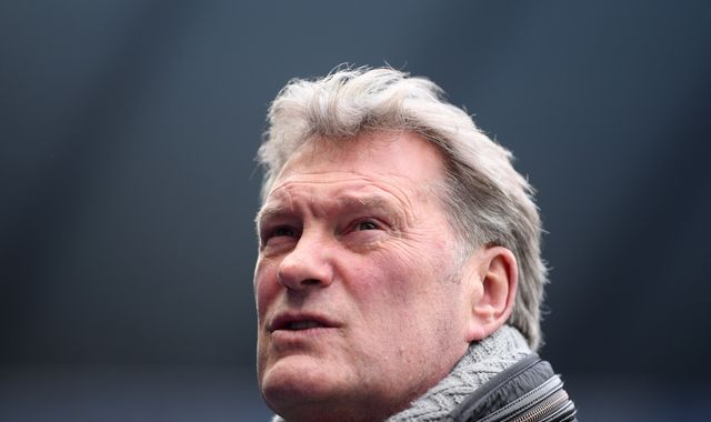 Glenn Hoddle says he is 'so grateful to still be here' after heart attack last October