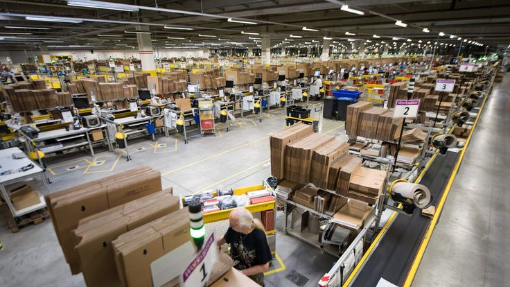 Although they don't have shops, Amazon still creates a need for resources taxes pay for