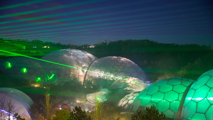 The Eden project earned high points for locally sourced food