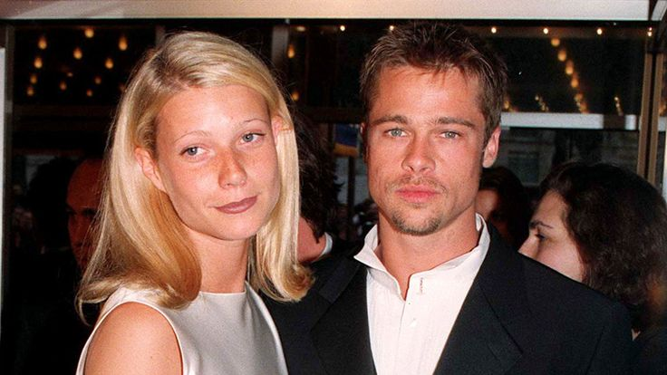 Gwyneth Paltrow and Brad Pitt in 1996 reissued after magazine interview in which she discusses Harvey Weinstein allegations