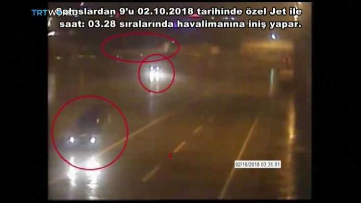 Black vans at Istanbul airport linked to Jamal Khashoggi's disappearance