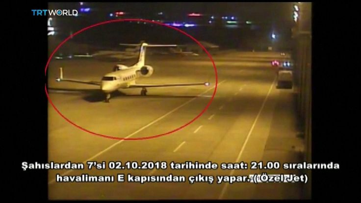 Private jet carries Saudis from Istanbul airport