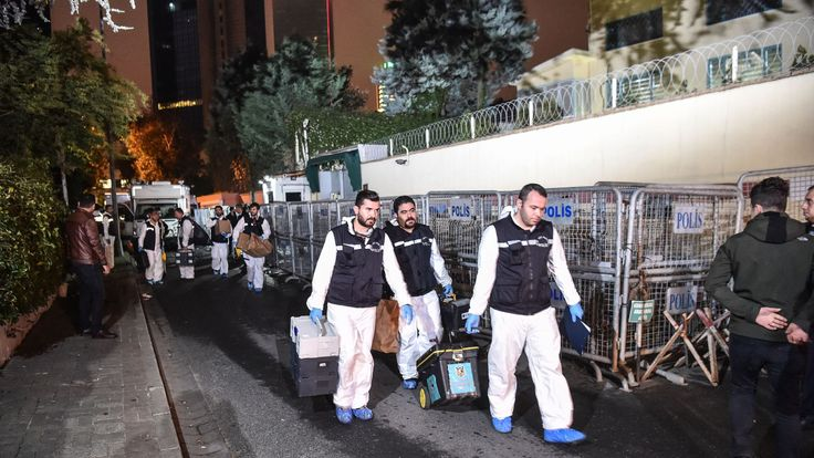Turkish investigators have searched the Saudi consulate in Istanbul twice