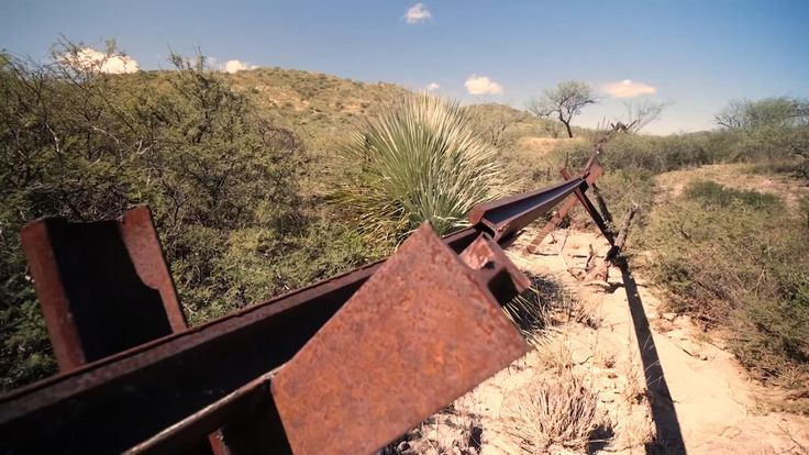 Parts of the border do not provide much of a barrier to entry
