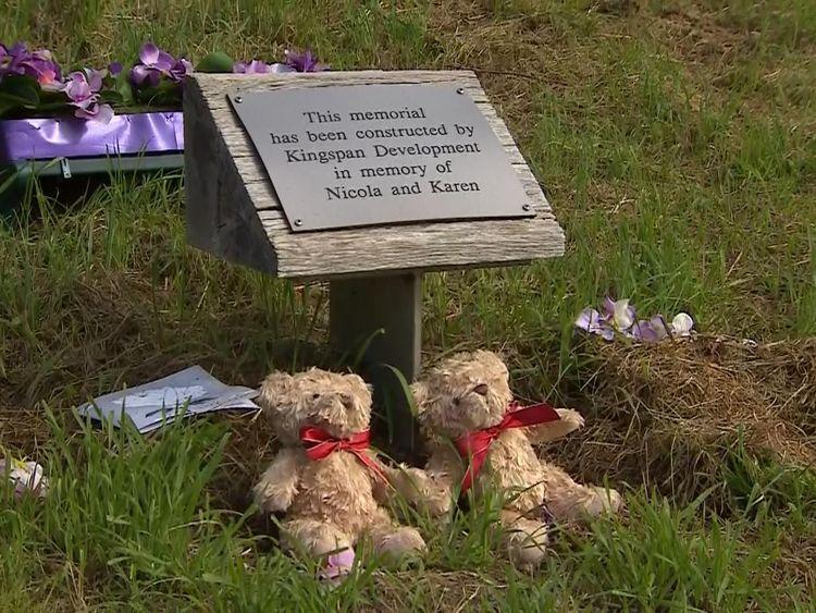 A memorial at Wild park
