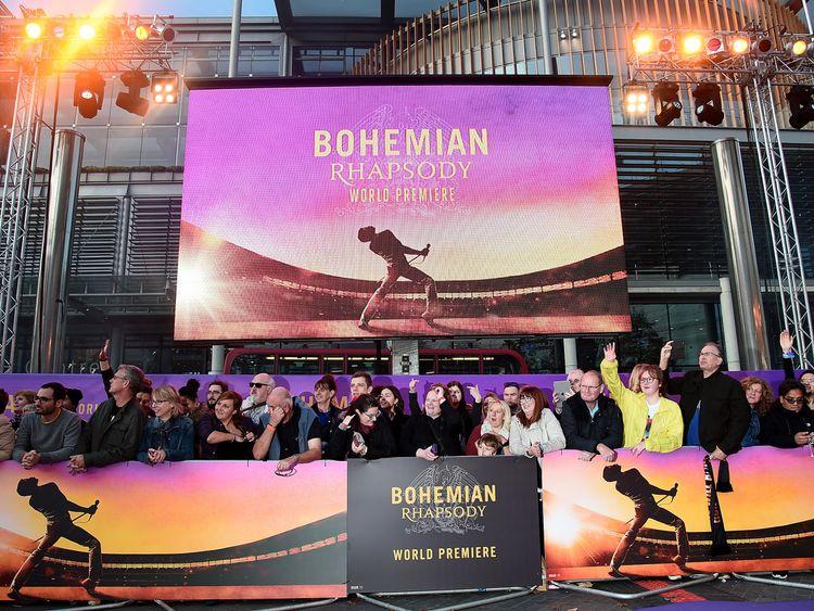 Bohemian Rhapsody is released in UK cinemas on Wednesday