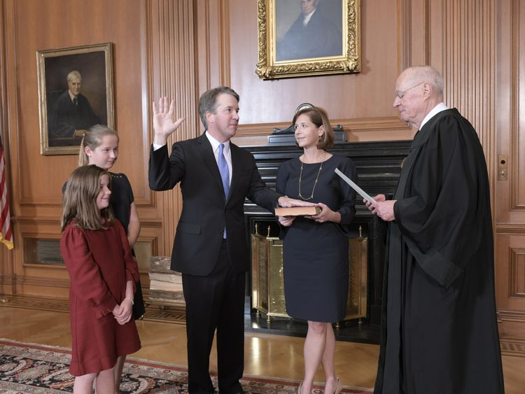 Kavanaugh confirmed as 114th justice